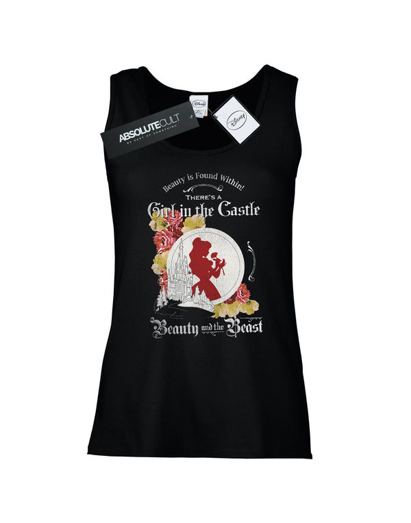 Disney Women's Beauty and the Beast Girl in the Castle Vest