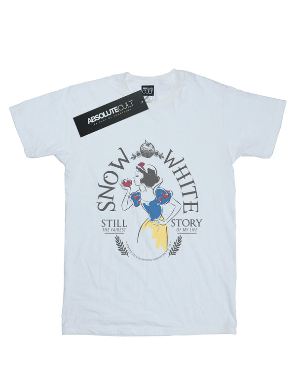 Disney Women's Princess Snow White Fairest Story Boyfriend Fit T-Shirt