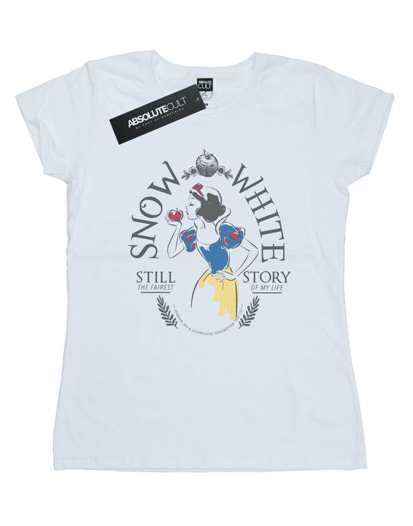 Disney Women's Princess Snow White Fairest Story T-Shirt