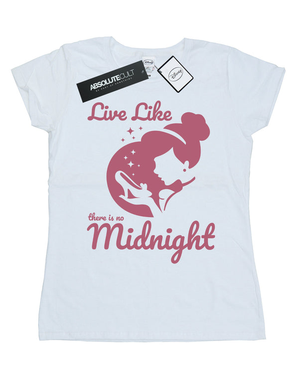 Disney Princess Women's Cinderella No Midnight T-Shirt - coolulu.com