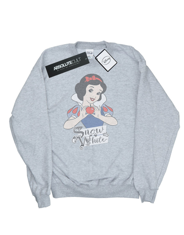 Disney Princess Men's Snow White Apple Sweatshirt