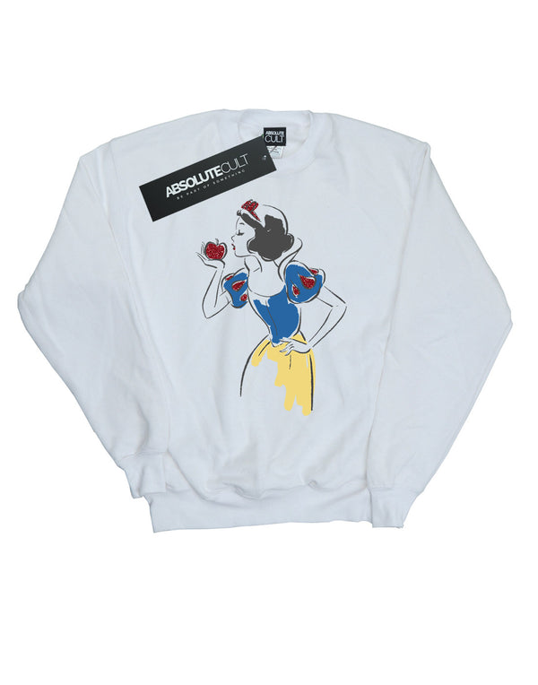 Disney Princess Boys Snow White Apple Glitter Sweatshirt