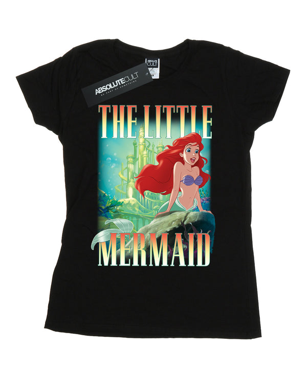 Disney Women's The Little Mermaid Ariel Montage T-Shirt