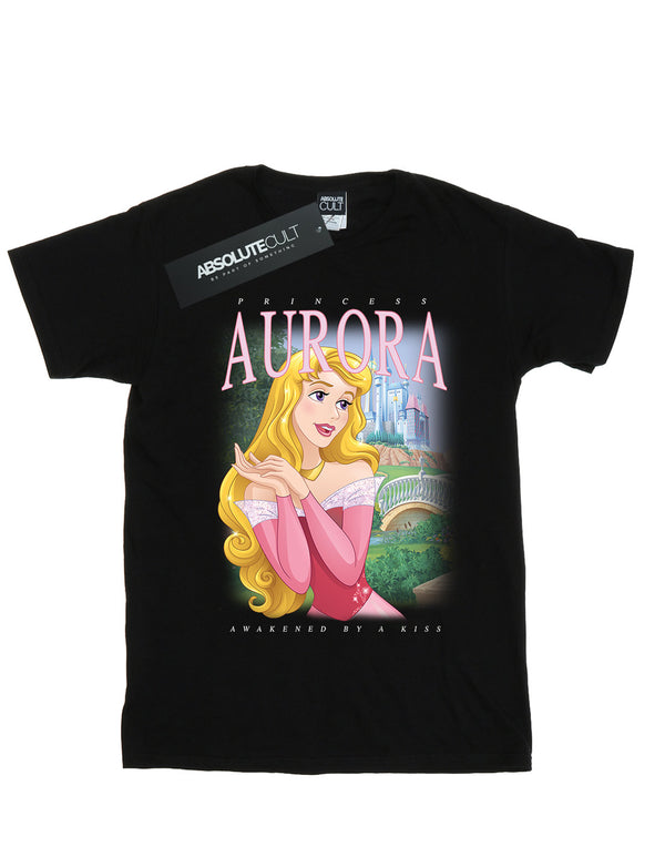 Disney Girls Sleeping Beauty Aurora Montage T-Shirt