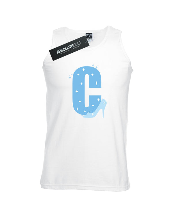 Disney Men's Alphabet C Is For Cinderella Vest