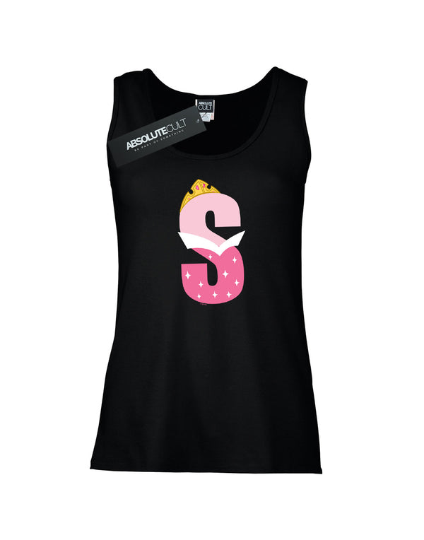 Disney Women's Alphabet S Is For Sleeping Beauty Vest