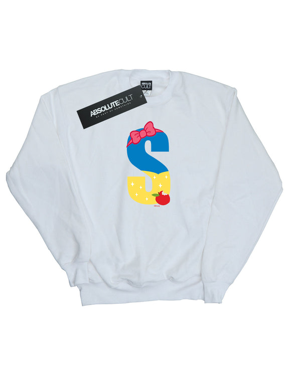 Disney Men's Alphabet S Is For Snow White Sweatshirt - coolulu.com