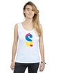 Disney Women's Alphabet S Is For Snow White Vest