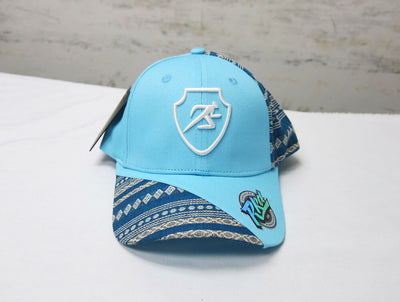Polygon Ankara Baseball Cap - Blue