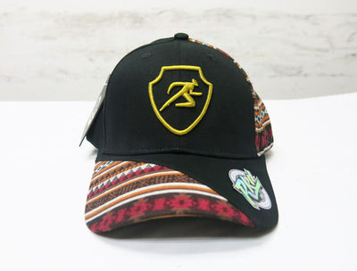 Polygon Ankara Baseball Cap - Black