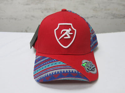 Polygon Ankara Baseball Cap - Red
