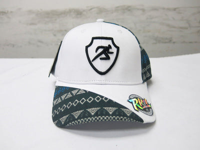 Polygon Ankara Baseball Cap - White