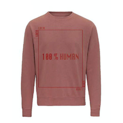 LOFA Dusty Pink 100% Human Sweatshirt