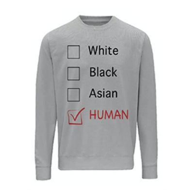 LOFA Heather Grey Human Options  Sweatshirt