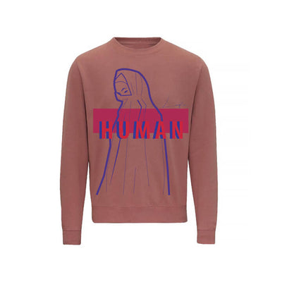 LOFA Human Made Dusty Pink Sweatshirt