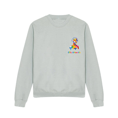 Queen Ellis - Unisex Sweatshirt - Grey