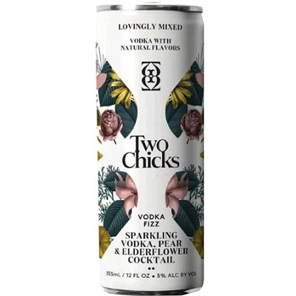 Two Chicks / Vodka Pear Elderflower / 355ml