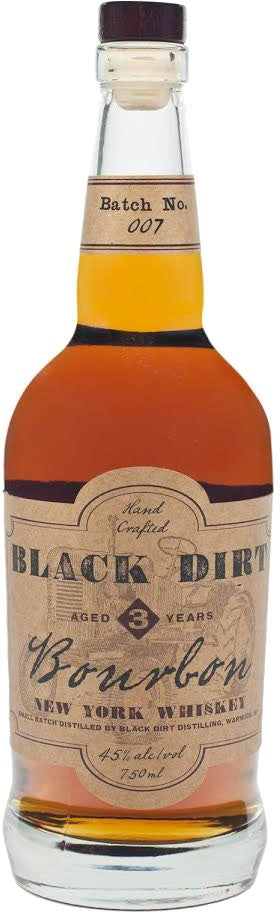 Black Dirt Distillery / 3 Year Bourbon / 750mL