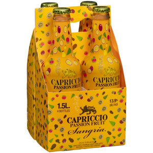 Capriccio / Passion Fruit Sangria / 4Pack 375mL