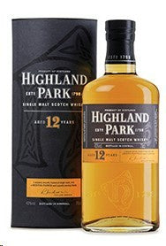 Highland Park / Scotch Single Malt 12 Year / 750mL