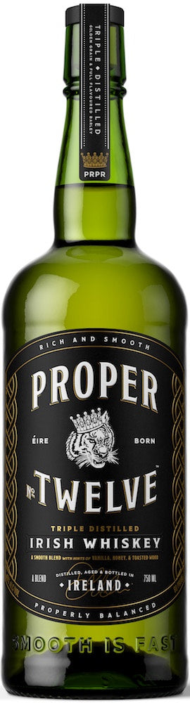 Proper / No. Twelve / Blended Irish Whiskey / 750mL