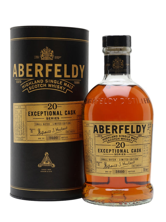 Aberfeldy / 20 Year Exceptional Cask Series / 750mL