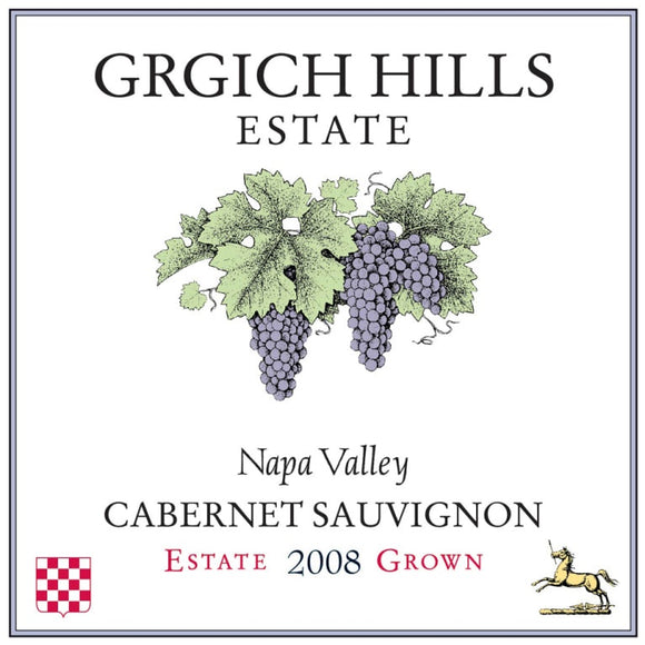 Grgich Hills Estate / Cabernet Sauvignon Estate Grown Napa Valley / 750mL