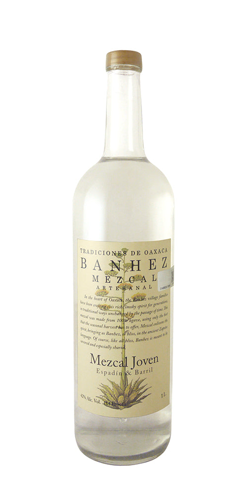 Banhez / Mezcal Joven Espadin & Barril / Please click for sizes