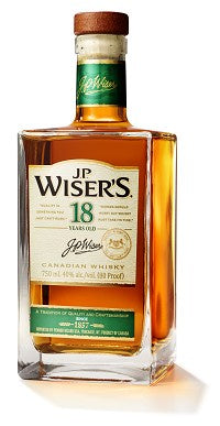 J.P. Wiser's / 18 Year Old Canadian Whisky / 750mL