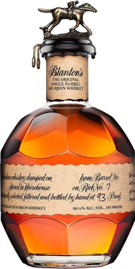 Blanton's Raffle Ticket