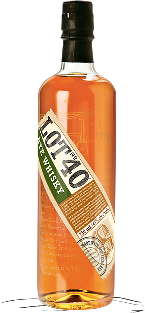 Lot 40 / Canadian Whiskey / 750mL