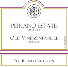 Peirano Estate Vineyards / Lodi Heritage Zinfandel / 750mL
