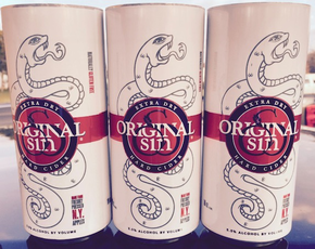 Original Sin Cider / Extra Dry Cider / Can 473mL