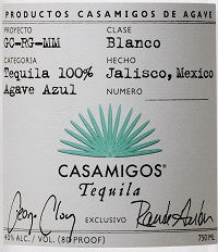 Casamigos / Tequila Blanco / Please click for sizes