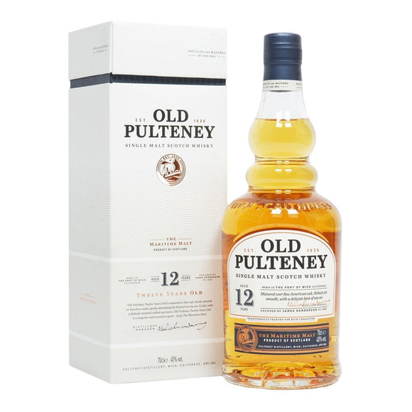 Old Pulteney / 12 Year Old Scotch / 750mL