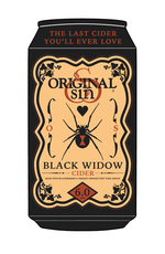 Original Sin Cider / Black Widow / 6Pack Can / 355mL