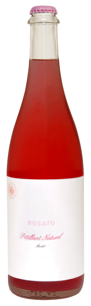Channing Daughters / Rosato di Merlot / Petillant Naturel / 2018 / 750mL
