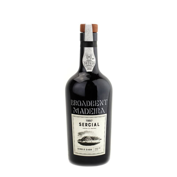Broadbent / Single Cask Sercial Madeira Cask No. O 016 1997 / 500mL
