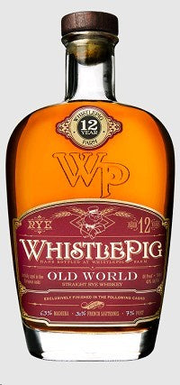 Whistlepig / Straight Rye Whiskey 12 Year Old World / 750mL