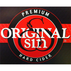 Original Sin Cider / Hard Cider / 6pack 355mL can