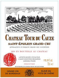Chateau Tour du Cauze / Saint-Emilion Grand Cru / 750mL