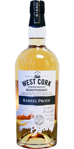 West Cork Distillers / Barrel Proof Irish Whiskey Limited Release / 750mL