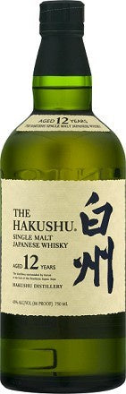 Suntory Hakushu / 12 Year Single Malt Whisky / 750mL