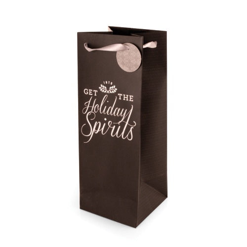 Holiday Spirits 1.5L Gift Bag by Cakewalk