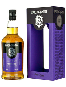 Springbank / Campbeltown 18 Year Old Single Malt / Limit 1 Per Customer/ 750mL