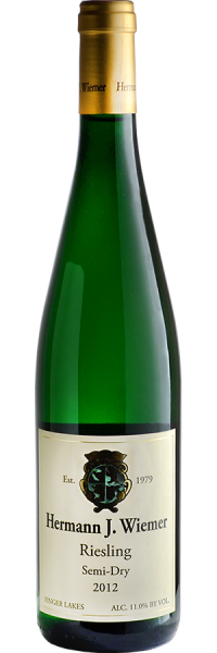 Hermann J. Wiemer / Semi-Dry Riesling Seneca Lake (2019) / 750mL