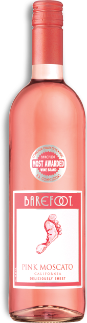 Barefoot / Pink Moscato / Please click for sizes
