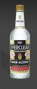 Everclear / Grain Alcohol 190 proof / 1L