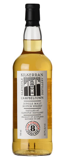 kilkerran / 8 Year Cask Strength / 750mL