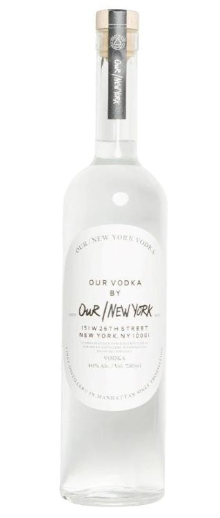 Our New York Vodka / Please click for sizes